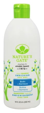 Nature's Gate - Shampoo Strengthening Biotin - 18 oz.