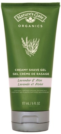 DROPPED: Nature's Gate - Creamy Shave Gel Lavender and Aloe CLEARANCE PRICED - 6 oz.