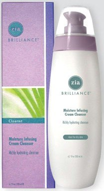 DROPPED: Zia - Brilliance Moisture Infusing Cream Cleanser - 6.7 oz.