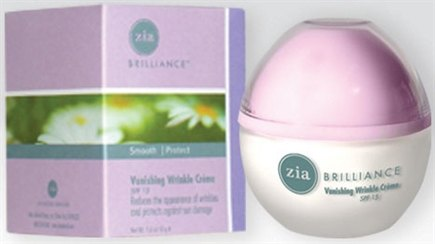 DROPPED: Zia - Brilliance Vanishing Wrinkle Creme SPF 15 - 1.6 oz.