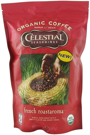 DROPPED: Celestial Seasonings - Organic Coffee French Roastaroma - 12 oz.