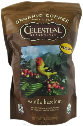 DROPPED: Celestial Seasonings - Organic Coffee Vanilla Hazelnut - 12 oz.