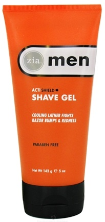 DROPPED: Zia - Mens ActiShield Shave Gel - 5 oz. CLEARANCE PRICED