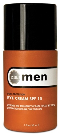 DROPPED: Zia - Mens Dual Protection Eye Creme SPF 15 - 1 oz. CLEARANCE PRICED