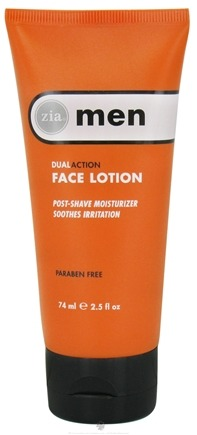 DROPPED: Zia - Mens DualAction Face Lotion - 2.5 oz. CLEARANCE PRICED