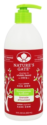 Nature's Gate - Lotion Moisturizing Skin Defense Pomegranate Sunflower - 18 oz.
