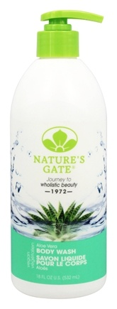 Nature's Gate - Aloe Vera Body Wash - 18 oz.