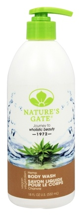 Nature's Gate - Hemp Body Wash - 18 oz.