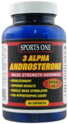 DROPPED: Sports One - 3 Alpha Androsterone Mass Strength Hardness - 60 Capsules