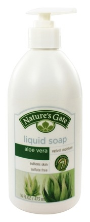 DROPPED: Nature's Gate - Liquid Soap Velvet Moisture Aloe Vera - 16 oz.