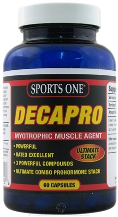 DROPPED: Sports One - Decapro Myotrophic Muscle Agent - 60 Capsules