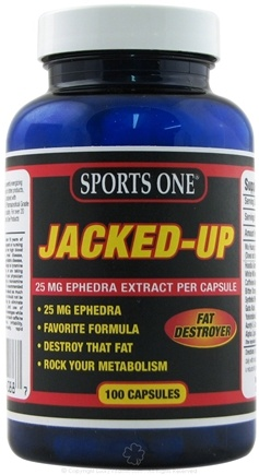 DROPPED: Sports One - Jacked-Up Fat Destroyer - 100 Capsules UNPUBLISHED