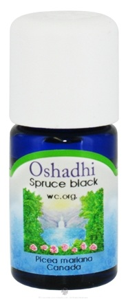DROPPED: Oshadhi - Professional Aromatherapy Black Spruce Certified Organic Essential Oil - 5 ml. CLEARANCE PRICED