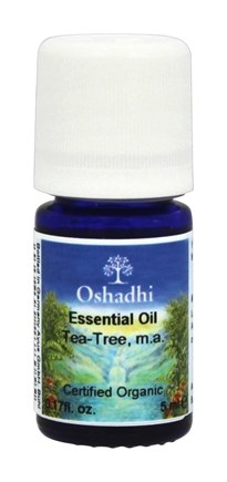 Oshadhi - Professional Aromatherapy Tea Tree Extra Certified Organic Essential Oil - 5 ml.