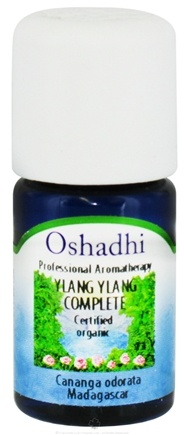 DROPPED: Oshadhi - Professional Aromatherapy Ylang Ylang Complete Certified Organic Essential Oil - 5 ml.