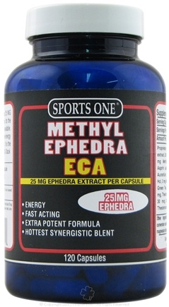 DROPPED: Sports One - Methyl Ephedra ECA - 120 Capsules UNPUBLISHED