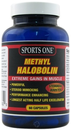 DROPPED: Sports One - Methyl Halobolin Steroidal Booster - 60 Capsules