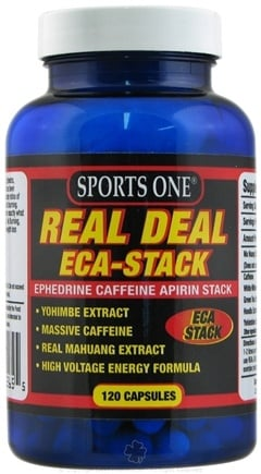 DROPPED: Sports One - Real Deal ECA-Stack Ultimate Stack - 120 Capsules