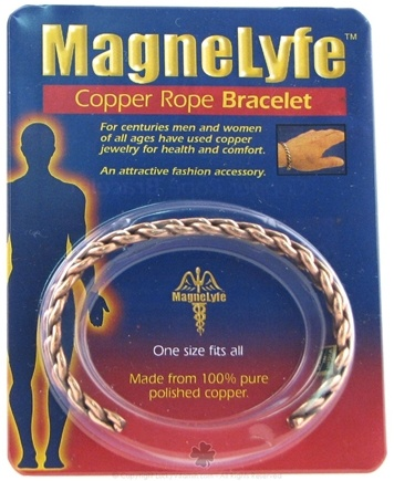 DROPPED: MagneLyfe - Copper Rope Bracelet