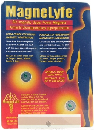DROPPED: MagneLyfe - Bio Magnetic Super Power Magnets - CLEARANCE PRICED