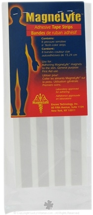 DROPPED: MagneLyfe - Adhesive Tape Strips For Magnets - 8 Strip(s) CLEARANCE PRICED