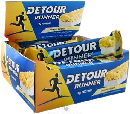 DROPPED: Forward Foods - Detour Runner Protein Bar Lemon Yogurt - 1.76 oz. CLEARANCE PRICED