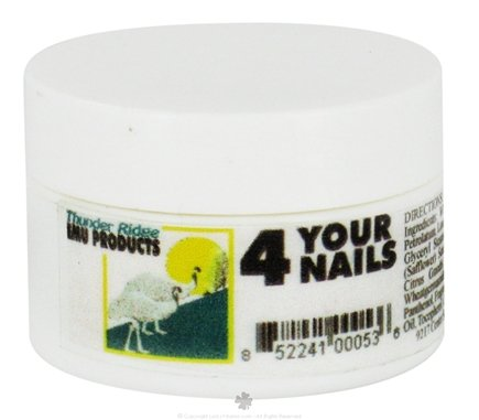 DROPPED: Thunder Ridge Emu Products - 4 Your Nails Cuticle Cream - 0.5 oz. CLEARANCE PRICED