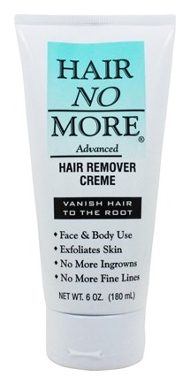 Hair No More - Advanced Hair Vanishing Creme - 6 oz.