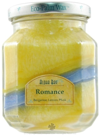 DROPPED: Aloha Bay - Deco Jar Candle Romance - 8.5 oz. CLEARANCE PRICED