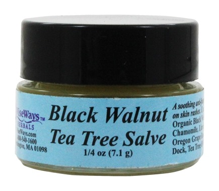 Wise Ways - Black Walnut Tea Tree Salve - 0.25 oz.