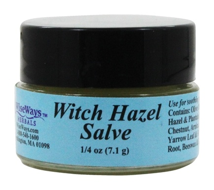 Wise Ways - Witch Hazel Salve - 0.25 oz.