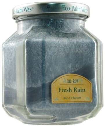 DROPPED: Aloha Bay - Deco Jar Candle Fresh Rain - 8.5 oz. CLEARANCE PRICED