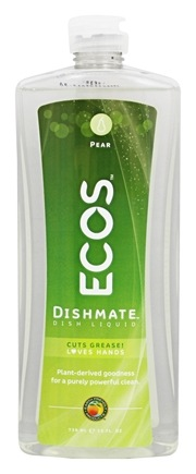 Earth Friendly - Dishmate Ultra Liquid Dishwashing Cleaner Natural Pear - 25 oz.