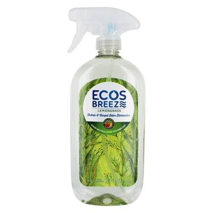 DROPPED: Earth Friendly - Eco Breeze Fabric Refresher Lemongrass - 22 oz.