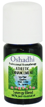 DROPPED: Oshadhi - Professional Aromatherapy Athletic Enhancement Synergy Blend Essential Oil - 5 ml. CLEARANCE PRICED
