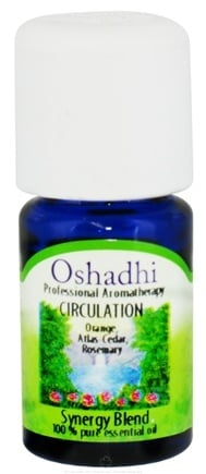 DROPPED: Oshadhi - Professional Aromatherapy Circulation Synergy Blend Essential Oil - 5 ml. CLEARANCE PRICED