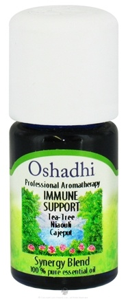 DROPPED: Oshadhi - Professional Aromatherapy Immune Support Synergy Blend Essential Oil - 5 ml. CLEARANCE PRICED