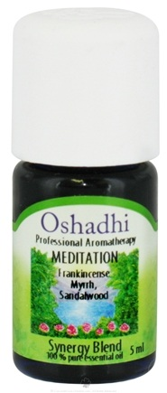 DROPPED: Oshadhi - Professional Aromatherapy Meditation Synergy Blend Essential Oil - 5 ml.