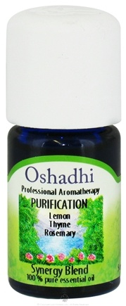 DROPPED: Oshadhi - Professional Aromatherapy Purification Synergy Blend Essential Oil - 5 ml. CLEARANCE PRICED