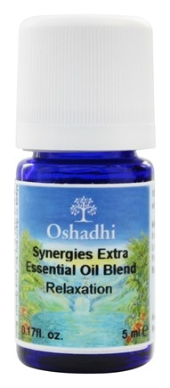 DROPPED: Oshadhi - Professional Aromatherapy Relaxation Essential Oil - 5 ml.