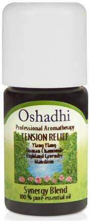 DROPPED: Oshadhi - Tension Relief Synergy Blend Essential Oil - 5 ml.