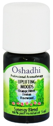 DROPPED: Oshadhi - Professional Aromatherapy Uplifting Moods Synergy Blend Essential Oil - 5 ml. CLEARANCE PRICED