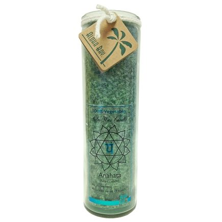 Aloha Bay - Heart Center Chakra Jar Anahata Candle - 17 oz.