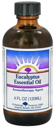 DROPPED: Heritage - Eucalyptus Essential Oil Aromatherapy Agent - 4 oz. CLEARANCE PRICED