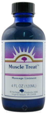 DROPPED: Heritage - Muscle Treat Massage Liniment - 4 oz. CLEARANCE PRICED