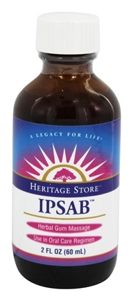 DROPPED: Heritage - IPSAB Herbal Gum Treatment - 2 oz.