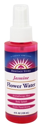 Heritage - Flower Water Spray Jasmine - 4 oz.