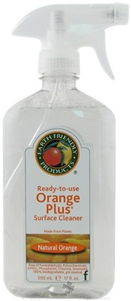 DROPPED: Earth Friendly - Orange Plus Ready To Use Surface Cleaner Natural Orange - 17 oz.