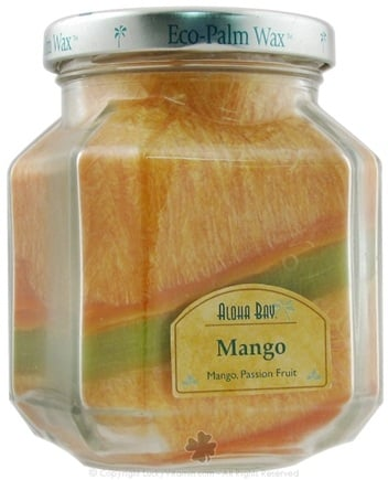 DROPPED: Aloha Bay - Deco Jar Candle Mango - 8.5 oz. CLEARANCE PRICED