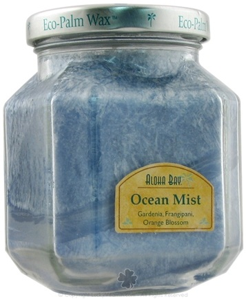 DROPPED: Aloha Bay - Deco Jar Candle Ocean Mist - 8.5 oz. CLEARANCE PRICED
